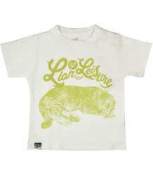 Lion of Leisure Baby T-shirt Cub Lion of Leisure Baby T-shirt Cub Off white