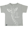 Lion of Leisure Baby T-shirt Giraffe Lion of Leisure Baby T-shirt Giraffe highrise grey