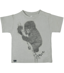 Lion of Leisure Baby T-shirt Chimp Lion of Leisure Baby T-shirt Chimp highrise grey
