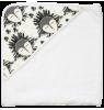 Hooded Bath Towel Anatology Hooded Bath Towel Totem #3 yellow