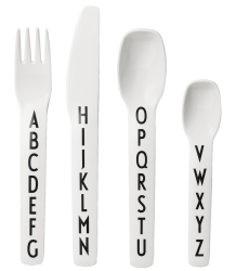 Design Letters ABC Kids Melamine Cutlery Set Design Letters ABC Kids Melamine Bestek Set