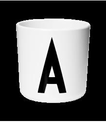 Design Letters ABC Melamine Cup Design Letters ABC Melamine Cup A