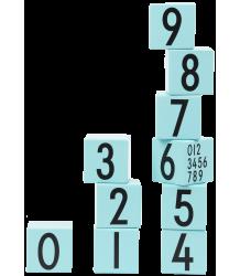 Design Letters AJ Wooden Cubes Design Letters AJ Wooden Cubes turquoise