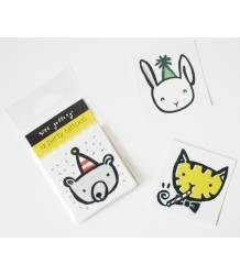 Temporary Tattoos Set - Party Wee Gallery Temporary Tattoos Set - Party