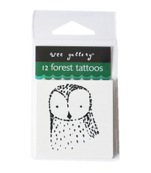 Wee Gallery Temporary Tattoos Set - Forest Wee Gallery Temporary Tattoos Set - Forest