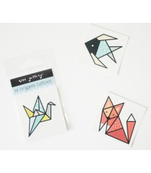 Wee Gallery Temporary Tattoos Set - Origami Wee Gallery Temporary Tattoos Set - Origami