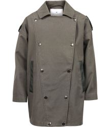Little Remix Coco - Double Breasted Army Coat Little Remix Coco - Double Breasted Army Coat