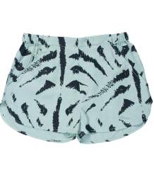 Soft Gallery Leah Woven Shorts Soft Gallery leah shorts All over tiger print mint green