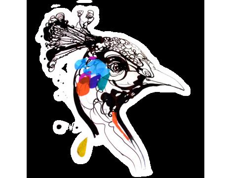 Tattly Peacock