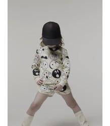 Caroline Bosmans Joy Shorts Caroline Bosmans Joy Shorts print emo icons all over
