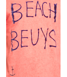 American Outfitters Oil Tee Beach Beuys American Outfitters Oil Tee Beach Beuys Coral Red