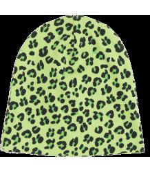 Mini Rodini Beanie AOP Mini Rodini Beanie AOP green leopard