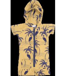 Mini Rodini UV Suit AOP Mini Rodini UV Suit AOP heron