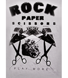 Mini & Maximus Crew Tee SS Mini & Maximus Crew Tee SS Rock Paper Scissors