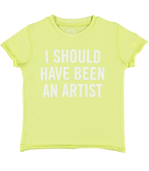 Zadig & Voltaire Kids Tee Shirt Little Zadig & Voltaire Kid Tee Shirt Little I SHOULD HAVE BEEN AN ARTIST