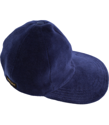 Mini Rodini Velour Cap  Mini Rodini Velour Cap dark blue