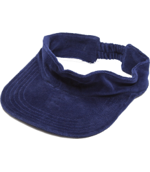 Mini Rodini Velour Visor Mini Rodini Velour Visor dark blue