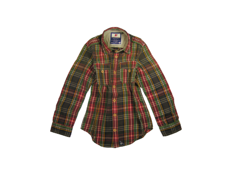 American Outfitters Check Trapper Shirt - OUTLET