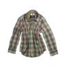 American Outfitters Check Trapper Shirt - OUTLET American Outfitters Burgundy Check Trapper Shirt