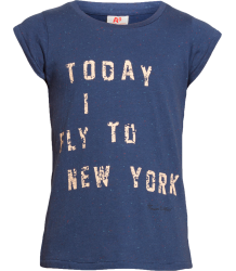 Today I Fly to NY Tee American Outfitters Today I Fly to NY Tee