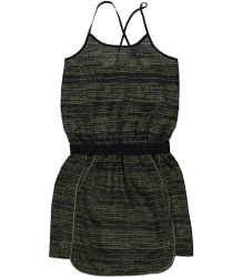 Little Remix Ida - Silk Printed Strap Dress Little Remix Ida - Silk Printed Strap Dress  green