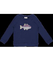 Simple Kids Fish Sweatshirt Simple Kids Fish Sweatshirt Navy