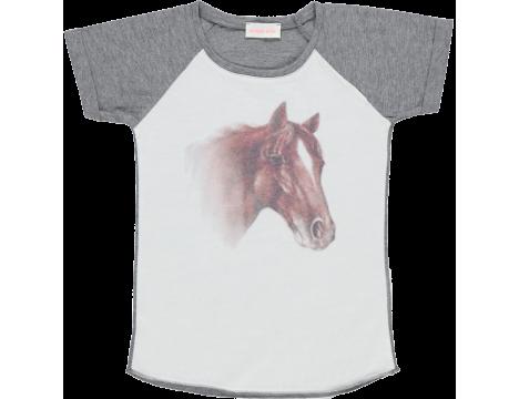 Simple Kids Horse Tee