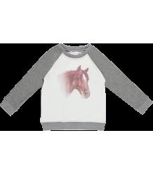 Simple Kids Pony Lurex Sweatshirt Simple Kids Pony Sweatshirt