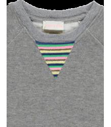 Simple Kids Triangle Lurex Sweatshirt Triangle Lurex Sweatshirt
