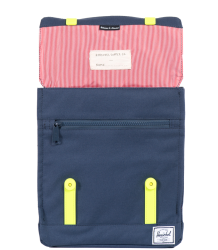 Herschel Survey Kid Herschel Survey Kid Navy   neon yellow