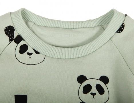 Mini Rodini Panda Reversible Sweatshirt
