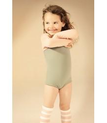Little Creative Factory Asymmetric Bathing Suit Girl Little Creative Factory Asymmetric Bathing Suit Girl Army   Green Tea