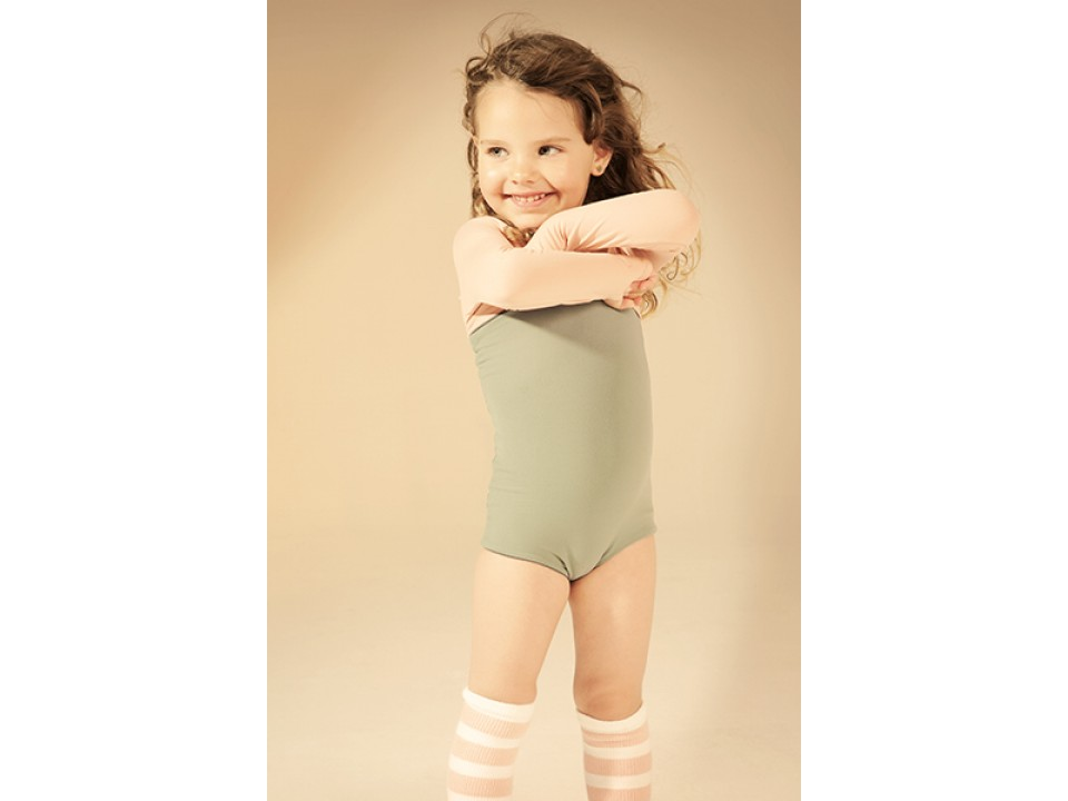 Little creative factory asymmetric bathing suit girl orange may - Pics of small little girls ...