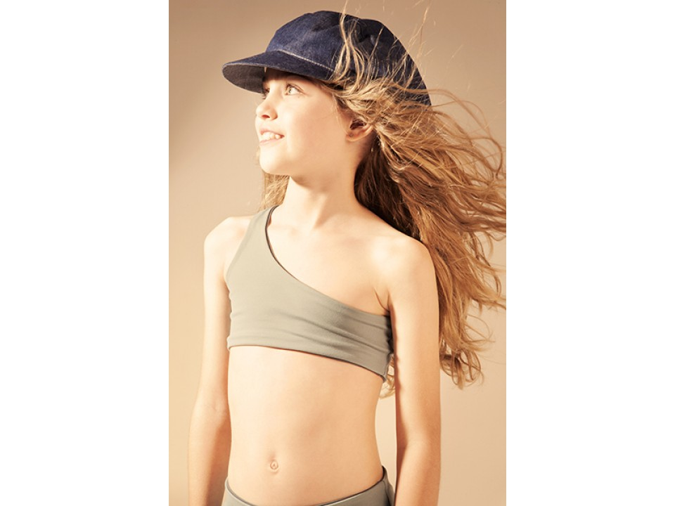 Little Creative Factory Asymmetric Bikini Girl Orange
