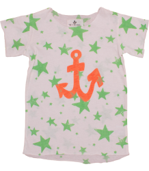 Noé & Zoë Boy's Tee Noe&Zoe Boy's Tee Green stars and orange anchor