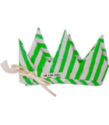 Noé & Zoë Crown Noe&Zoe Crown green stripes