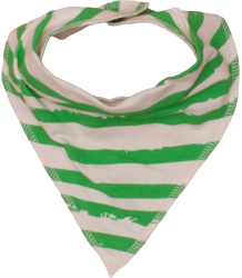 Noé & Zoë Drooling Scarf Noe&Zoe Drooling Scarf Green stripes