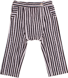 Noé & Zoë Baby Harem Pants Noe&Zoe Baby Harem Pants black stripes