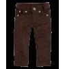 Jean Slim en Corduroy Fin Bakker made with Love - jean slim en corduroy fin - bronzer