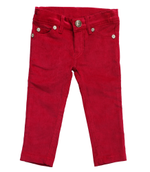 Bakker m/w Love Jean Slim en Corduroy Fin - OUTLET Bakker made with Love Jean Slim en Corduroy Fin - fushia