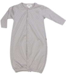 Oeuf NYC Convertable Jumper Oeuf NYC Convertable Jumper grey with dot