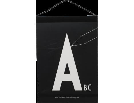Design Letters AJ Paint Book