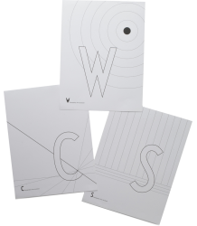 Design Letters AJ Paint Book Design Letters AJ Kleurboek ABC
