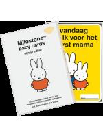 Milestone Cards Miffy Baby Cards Milestone Cards Nijntje Baby Cards