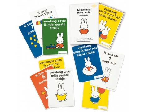 Milestone Cards Miffy Baby Cards