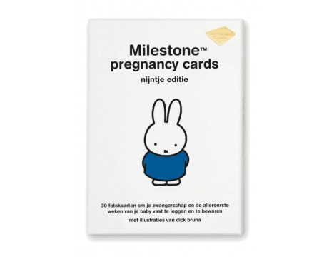 Milestone Cards Miffy Pregnancy Cards