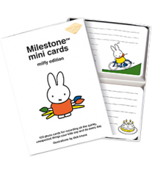 Miffy Mini Cards Milestone Cards Miffy Mini Cards