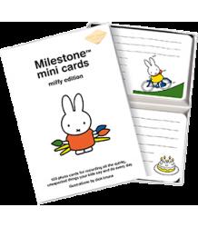 Milestone Cards Nijntje Mini Cards Milestone Cards Miffy Mini Cards