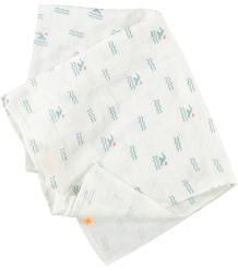 Tiny Cottons Swaddle Tiny Cottons Swaddle swim area allover print