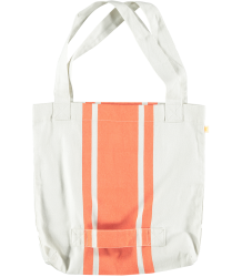 Tiny Cottons Retro Shopper Tiny Cottons Retro Shopper in creme with orange stripe